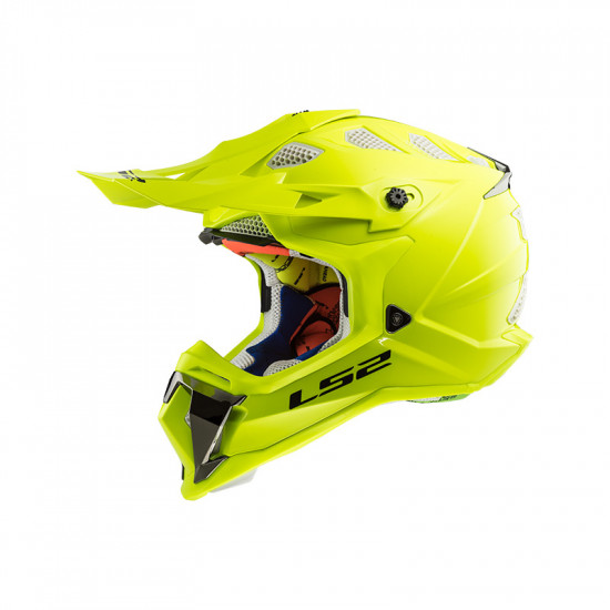 Casco cross/enduro LS2 Helmets MX470 SUBVERTER Solid H-V Yellow