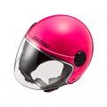 Casco jet LS2 Helmets OF558 SPHERE LUX Solid Fluo Pink