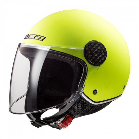 Casco jet LS2 Helmets OF558 SPHERE LUX Solid Matt Fluo Yellow