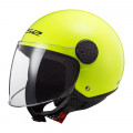 Casco jet LS2 Helmets OF558 SPHERE Solid Fluo