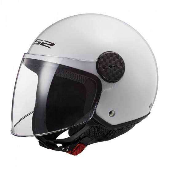 Casco jet LS2 Helmets OF558 SPHERE Solid Blanco