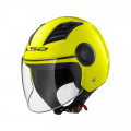 Casco jet LS2 Helmets OF562 AIRFLOW L SOLID Matt H-V Yellow