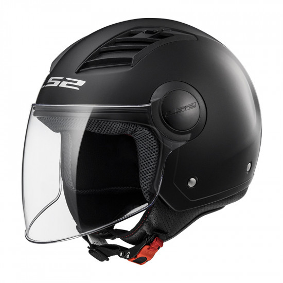 Casco jet LS2 Helmets OF562 AIRFLOW L SOLID Matt Black