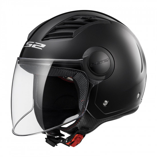 Casco jet LS2 Helmets OF562 AIRFLOW L SOLID Black