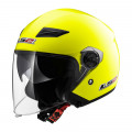 Casco jet LS2 Helmets OF569 TRACK SOLID H-V Yellow