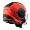 SUPEROFERTA Casco jet LS2 Helmets OF570 VERSO Spin Matt Fluo Orange