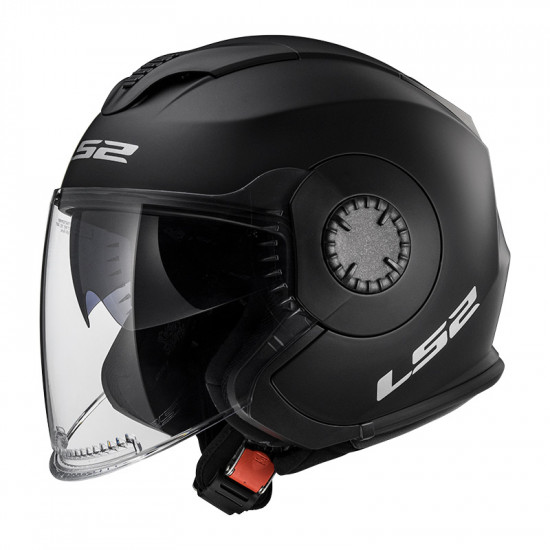 Casco jet LS2 Helmets OF570 VERSO Solid Matt Black