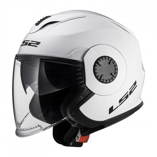 Casco jet LS2 Helmets OF570 VERSO Solid White