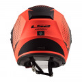 Casco jet LS2 Helmets OF570 VERSO Spin Matt Fluo Orange