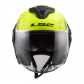 Casco jet LS2 Helmets OF570 VERSO Spin Matt HV Yellow