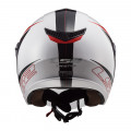 Casco jet LS2 OF573 TWISTER II Plane White Black Red