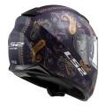 Casco integral LS2 Helmets FF320 STREAM EVO PASLY Matt Violett