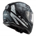 Casco integral LS2 Helmets FF320 STREAM EVO THRONE Matt Black Titanium