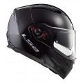 Casco moto convertible LS2 FF324 METRO PJ EVO Solid Black