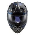 Casco integral LS2 FF327 Challenger C KONIC Matt Carbon Blue
