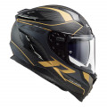 SUPEROFERTA Casco integral LS2 FF327 Challenger C GRID Matt Carbon Antique Gold