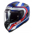 SUPEROFERTA Casco integral LS2 FF327 Challenger Fusion Blue Red