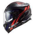 Casco integral LS2 FF327 Challenger Propeller Red Blue