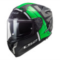 Casco integral LS2 FF327 Challenger Randy Matt Black Green