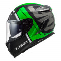 SUPEROFERTA Casco integral LS2 FF327 Challenger Randy Matt Black Green
