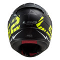 Casco integral LS2 Helmets FF353 RAPID Chromo Matt Black HV Yellow