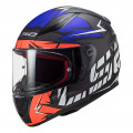 SUPEROFERTA Casco integral LS2 Helmets FF353 RAPID Chromo Matt Fluo Orange Blue