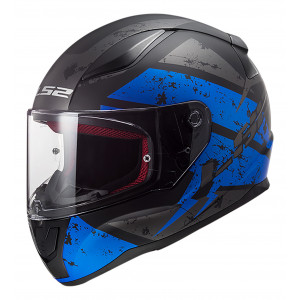 SUPEROFERTA Casco integral LS2 Helmets FF353 RAPID DeadBolt Matt Black Blue