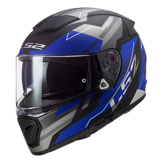 Casco integral LS2 FF390 BREAKER Beta Matt Blue