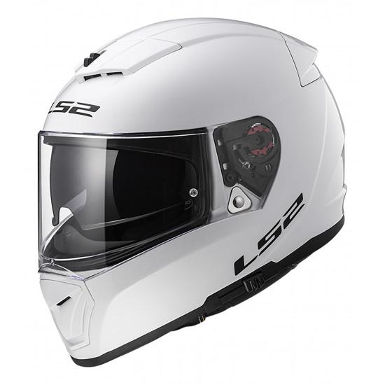 Casco integral LS2 FF390 Breaker Solid White