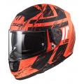SUPEROFERTA Casco integral LS2 Helmets FF397 VECTOR HPFC EVO HUNTER Matt Fluo Orange Black