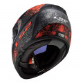 Casco integral LS2 Helmets FF397 VECTOR HPFC EVO Swipe Matt Black Red