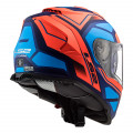 Casco integral LS2 FF800 STORM Faster Matt Fluo Orange Blue