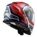 Casco integral LS2 FF800 STORM Faster Red Blue