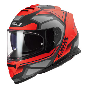Casco integral LS2 FF800 STORM Faster Matt Red Titanium