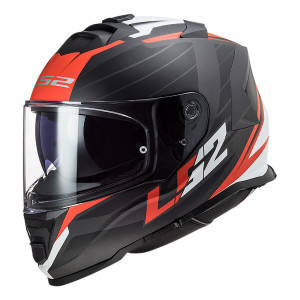 Casco integral LS2 FF800 STORM Nerve Matt Black Red