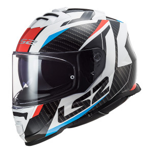 Casco integral LS2 FF800 STORM Racer Blue Red