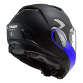 SUPEROFERTA Casco convertible LS2 FF900 Valiant II Hammer Matt Black Blue