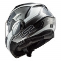 Casco convertible LS2 FF900 Valiant II Orbit Jeans