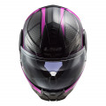 Casco Convertible LS2 ff902 SCOPE Axis Black Pink