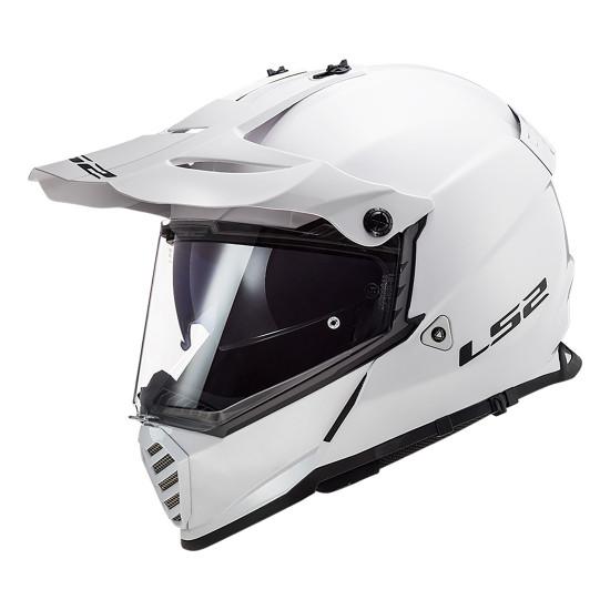 Casco offroad LS2 Helmets MX436 PIONEER EVO Solid White