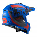 Casco cross/enduro LS2 Helmets MX437 FAST Alpha Matt Blue