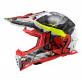 Casco cross/enduro LS2 Helmets MX437 FAST Crusher Black Red
