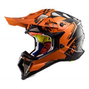SUPEROFERTA Casco cross/enduro LS2 Helmets MX470 SUBVERTER Emperor Black Orange