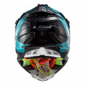 SUPEROFERTA Casco cross/enduro LS2 Helmets MX470 SUBVERTER Max Black Turquoise