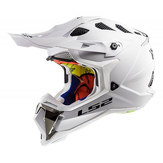 SUPEROFERTA Casco cross/enduro LS2 Helmets MX470 SUBVERTER Solid White