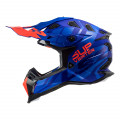 Casco cross/enduro LS2 Helmets MX470 SUBVERTER Troop Blue Fluo Orange