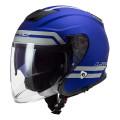 Casco jet LS2 Helmets OF521 INFINITY Hyper Matt Blue