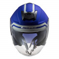 Casco jet LS2 Helmets OF521 INFINITY Hyper Matt Blue