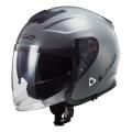 Casco jet LS2 Helmets OF521 INFINITY SOLID Nardo Grey