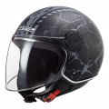 Casco jet LS2 Helmets OF558 SPHERE LUX Snake Matt Black Titanium